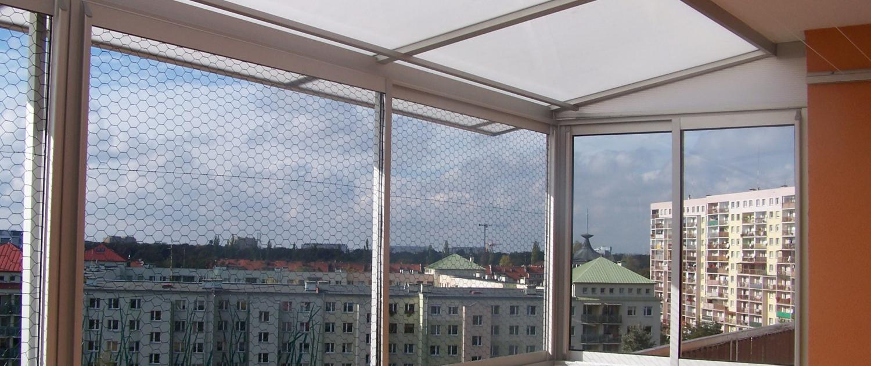 ALUMARK PLUS - Zabudowa balkonów, tarasów, zadaszenia